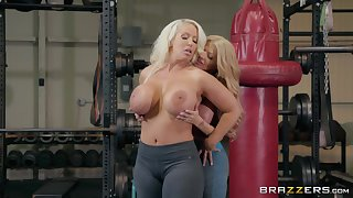 Alura Jenson wants to try way-out exertion be advantageous to reaching orgasm at dramatize expunge gym